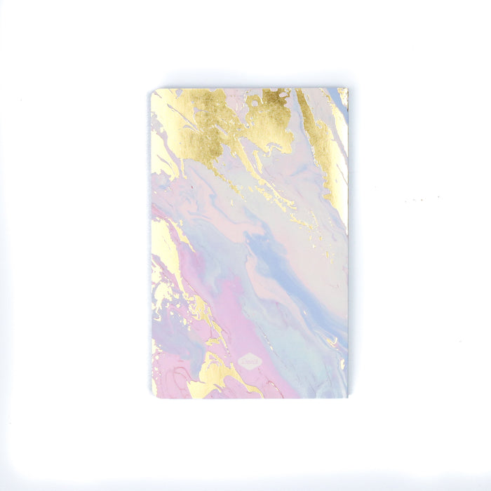 Melted Marble Layflat Notebook