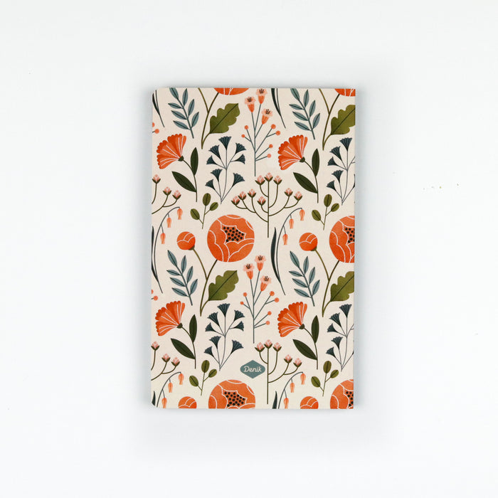 Flowers Layflat Notebook