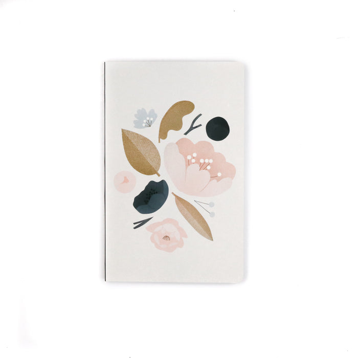 Peonies Layflat Notebook