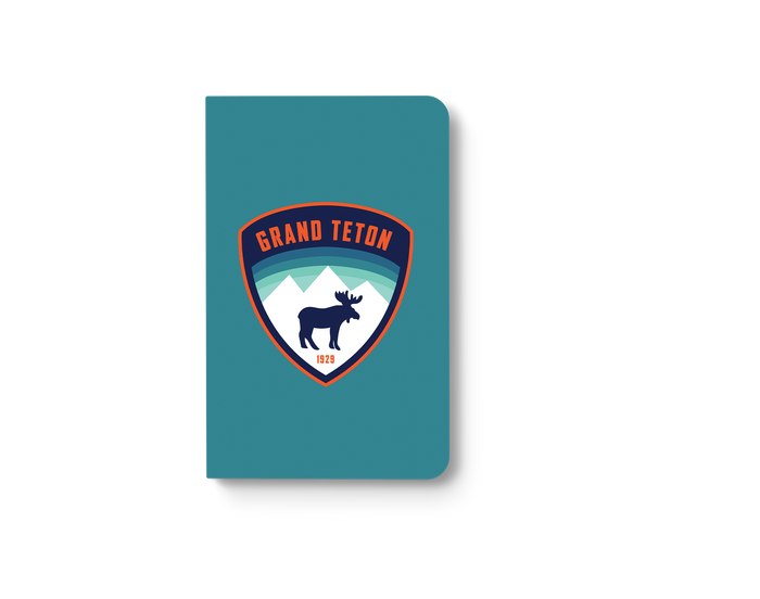 Grand Teton - Moose Classic Layflat Notebook
