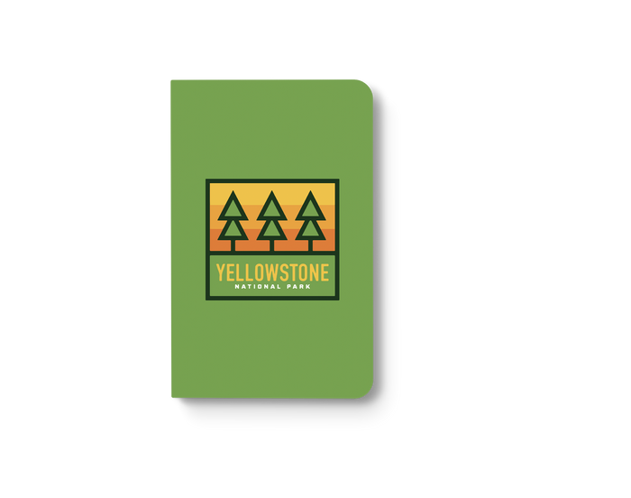 Yellowstone Trees Classic Layflat Notebook