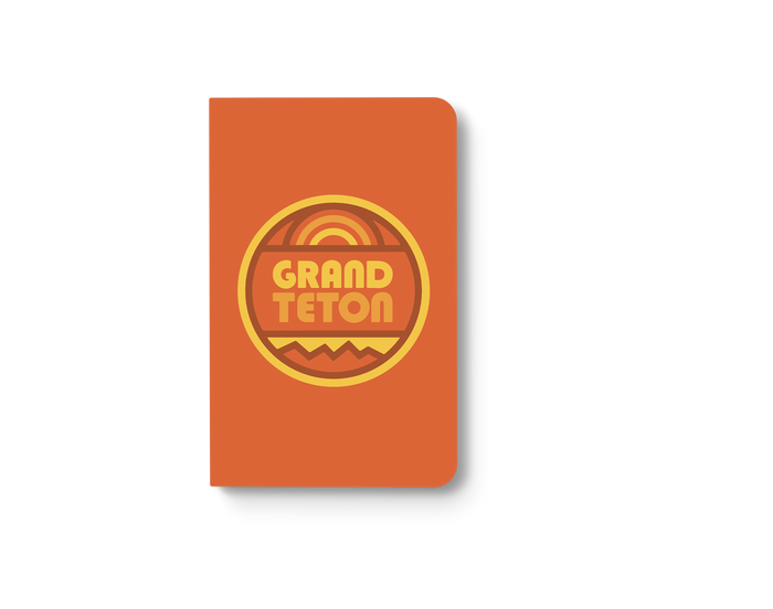 Grand Teton Classic Layflat Notebook