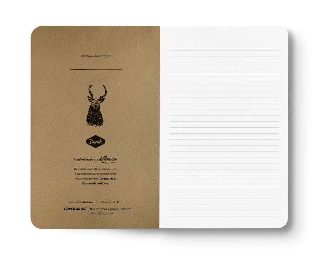 Stag - Kraft Layflat Notebook