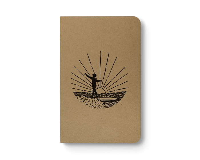 Dawn Patrol - Kraft Layflat Notebook