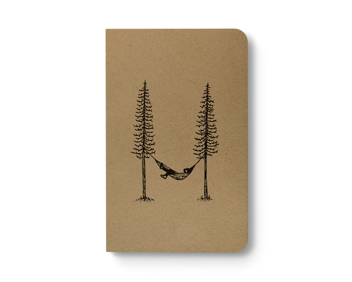 Hammock Life - Kraft Layflat Notebook