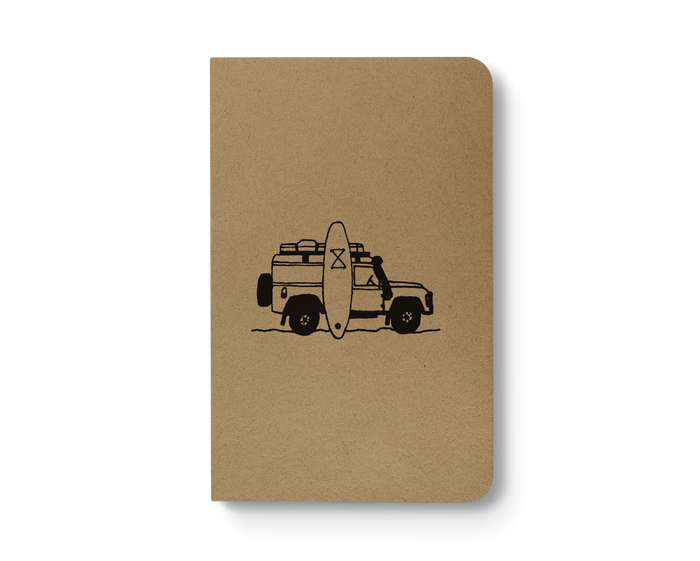 Landy - Kraft Layflat Notebook