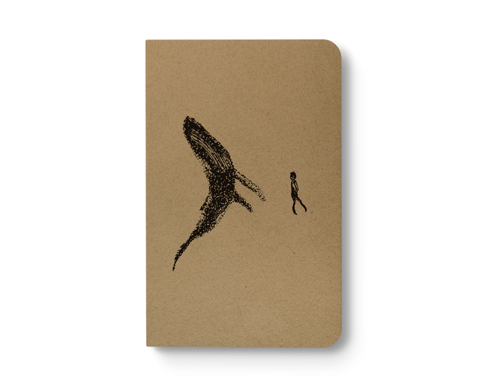 Noah and the Whale - Kraft Layflat Notebook