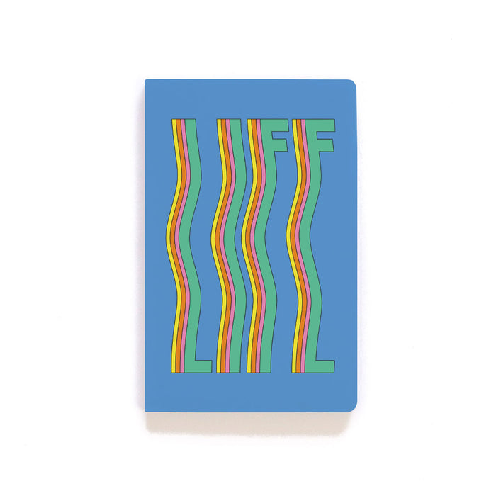 Life Is Windy Softcover Notebook