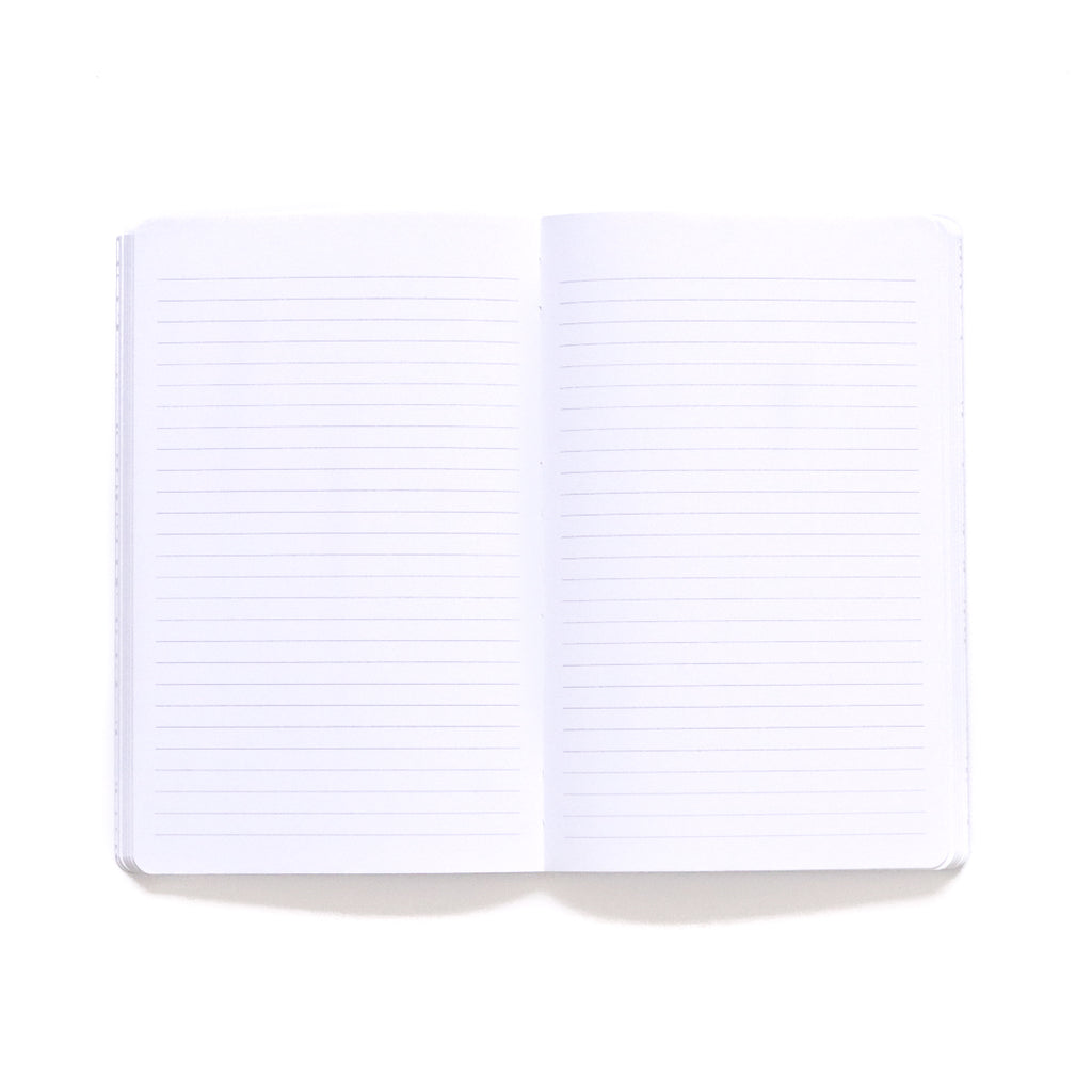 Bermuda Softcover Notebook lined page spread