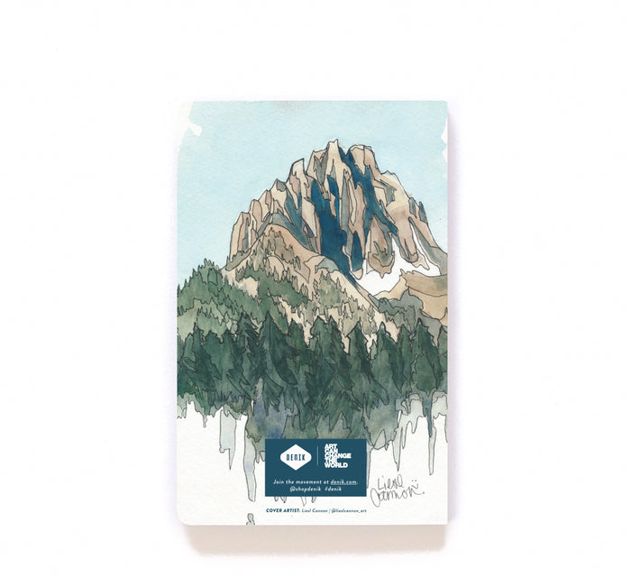 Drawing Mountains Notebook