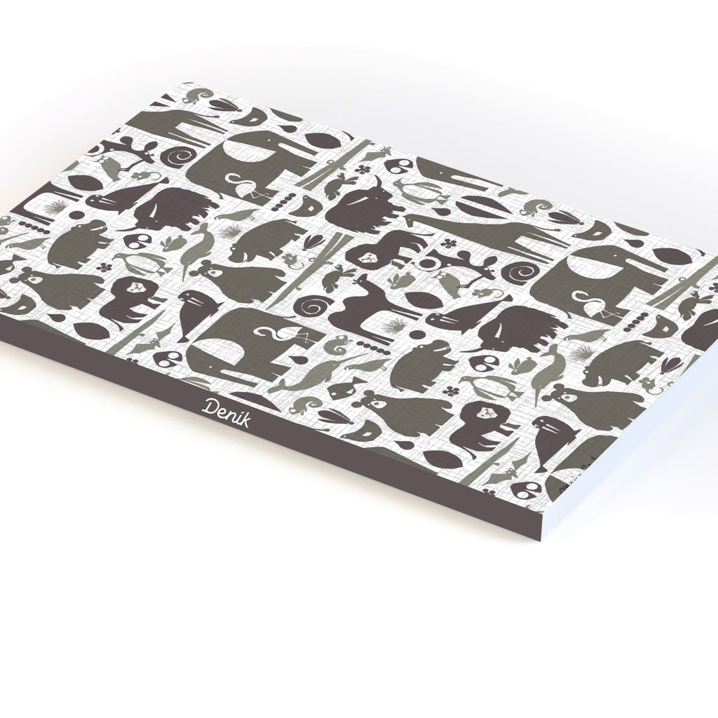 Animals BW Softcover Notebook