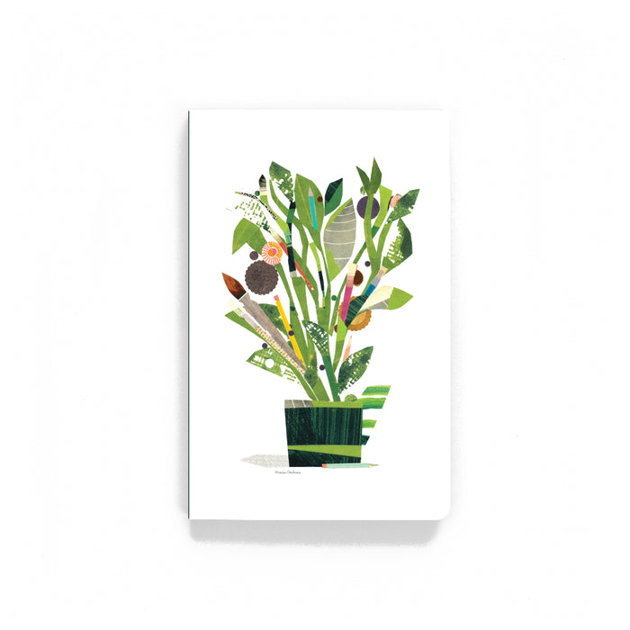 Plant With Tools Softcover Notebook