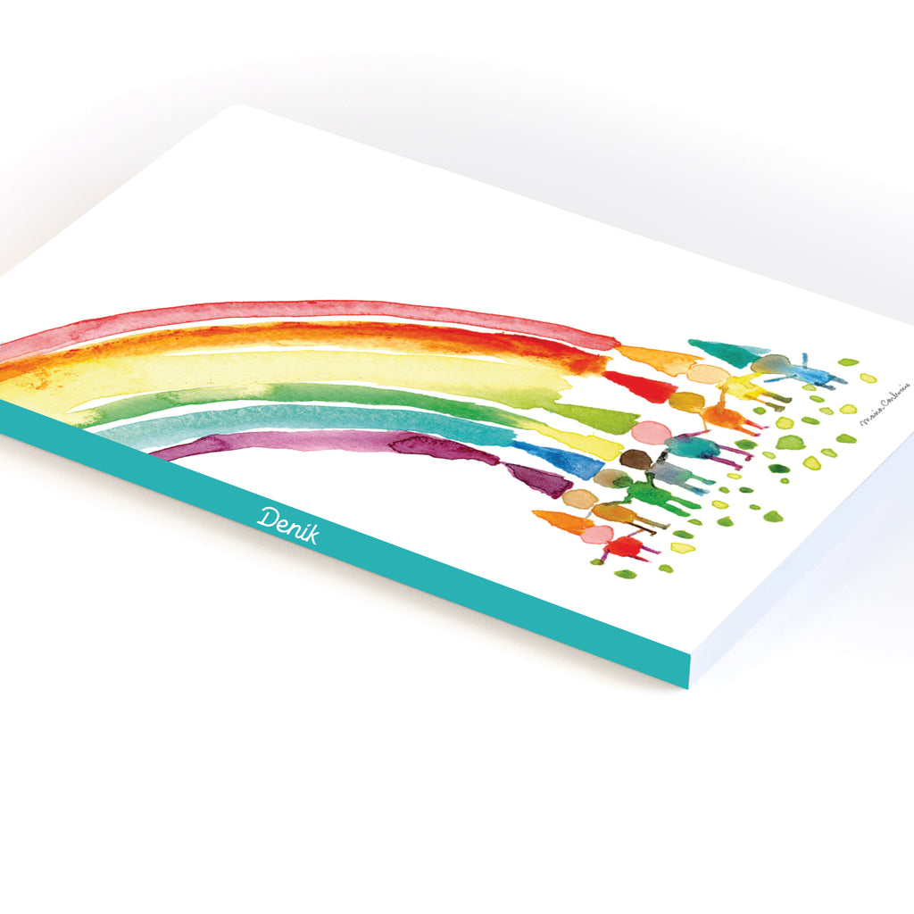 Rainbow Kids Softcover Notebook