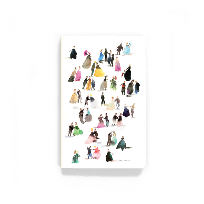 Tiny Dancers Softcover Notebook