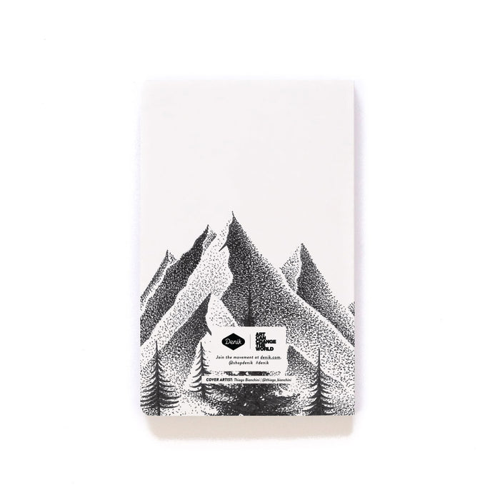 Northern Mountains Softcover Notebook