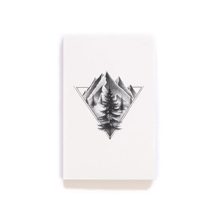 Northern Mountains Layflat Softcover Notebook