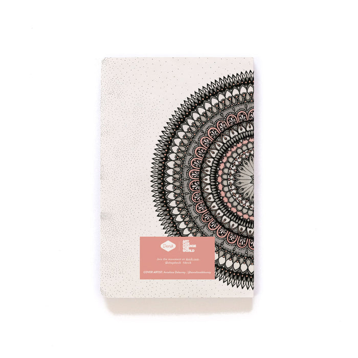 Pink Mandala Softcover Notebook