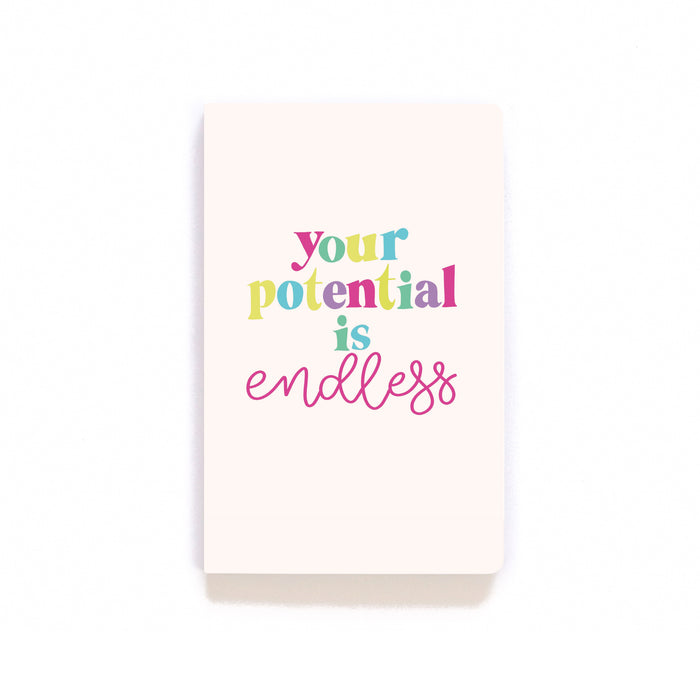 Your Potential Is Endless Softcover Notebook