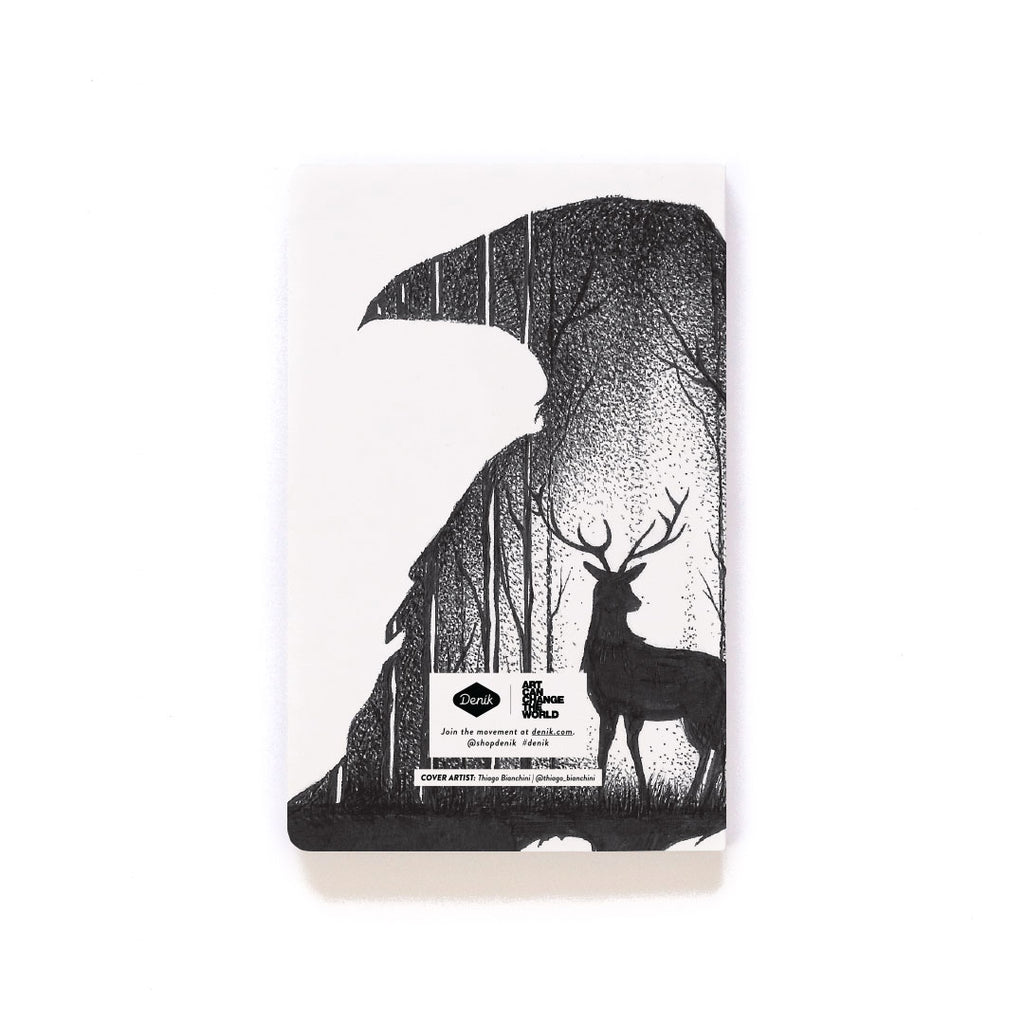 Deer & Raven Softcover Notebook Deer & Raven Softcover Notebook