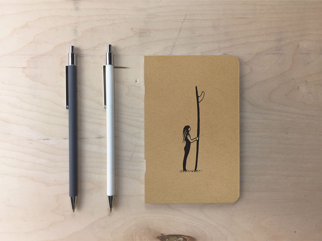 Off Shore Surf - Kraft Pocket Notebook