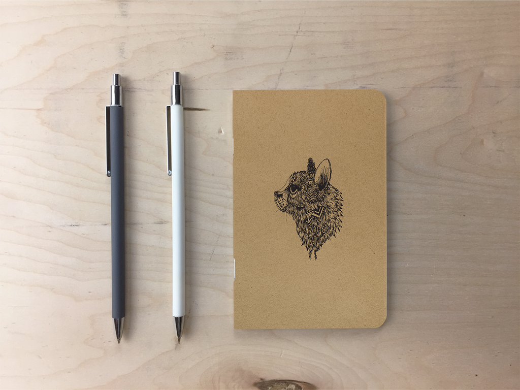 Soxy - Kraft Pocket Notebook