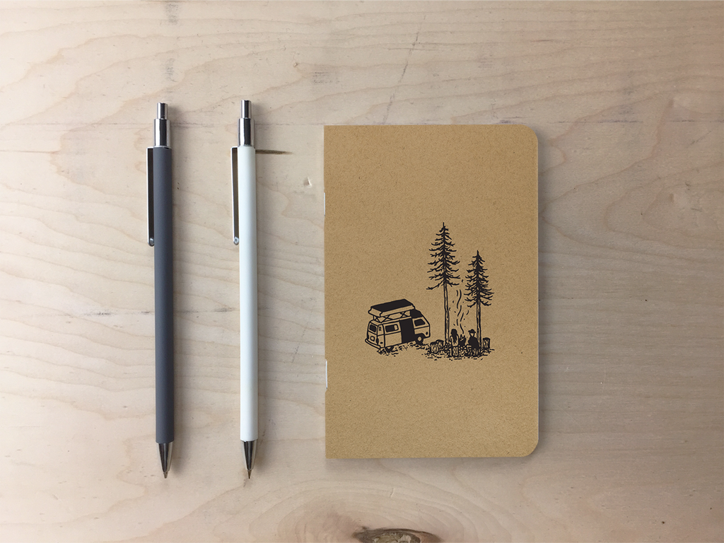 Van Life - Kraft Pocket Notebook