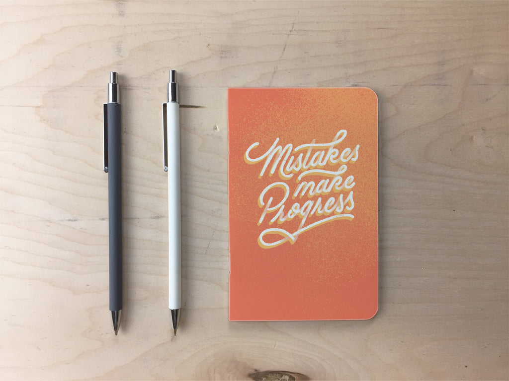 Mistakes Make Progress Pocket Notebook