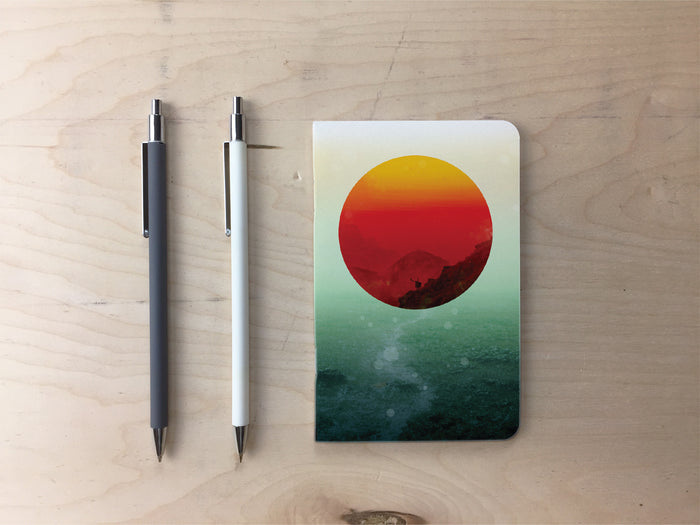 In the End the Sun Rises Pocket Notebook