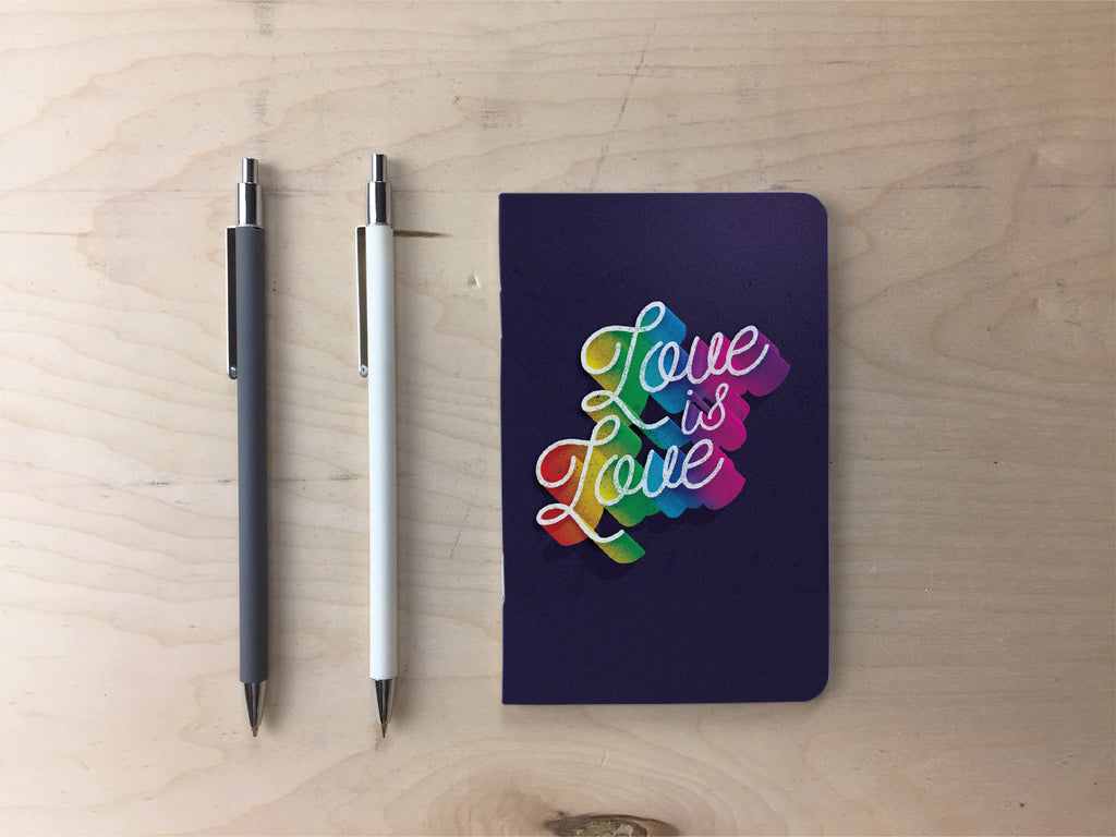 Love is Love Pocket Notebook