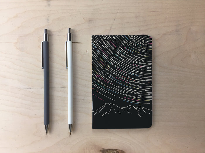 Star Trails Pocket Notebook