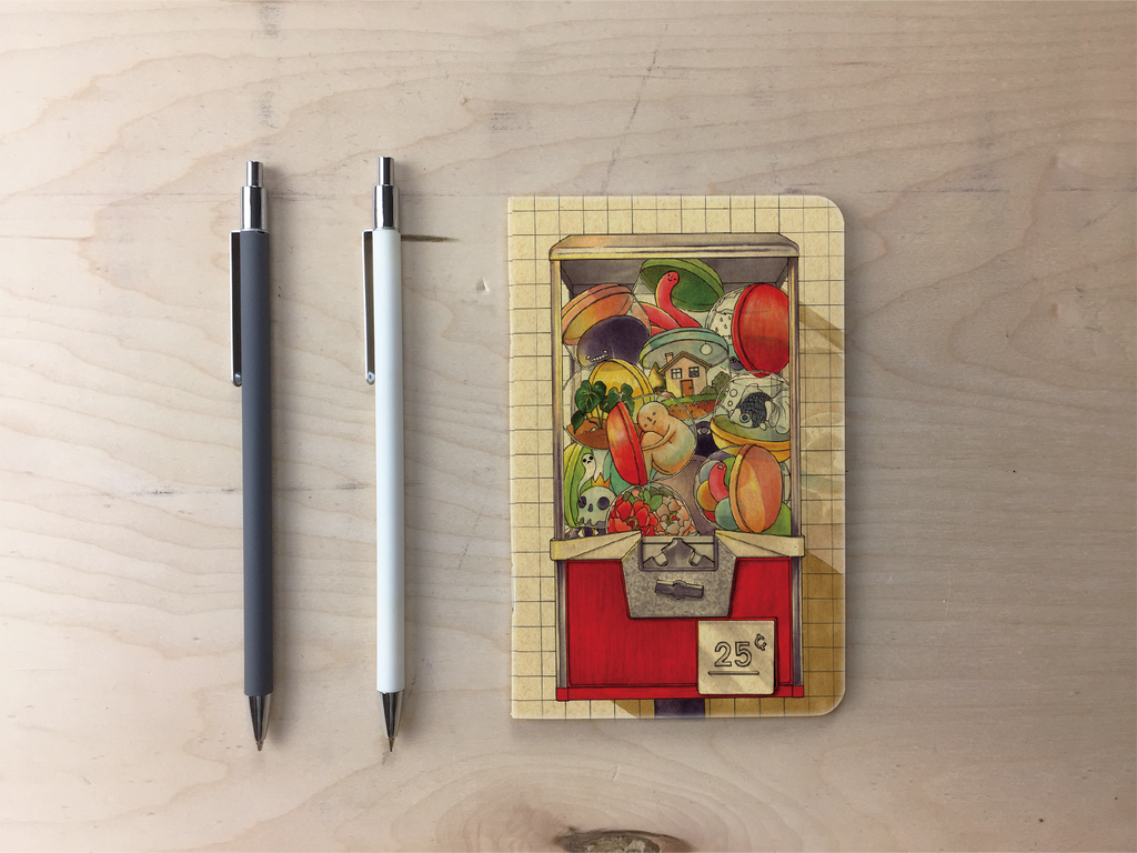 Toy Machine Pocket Notebook
