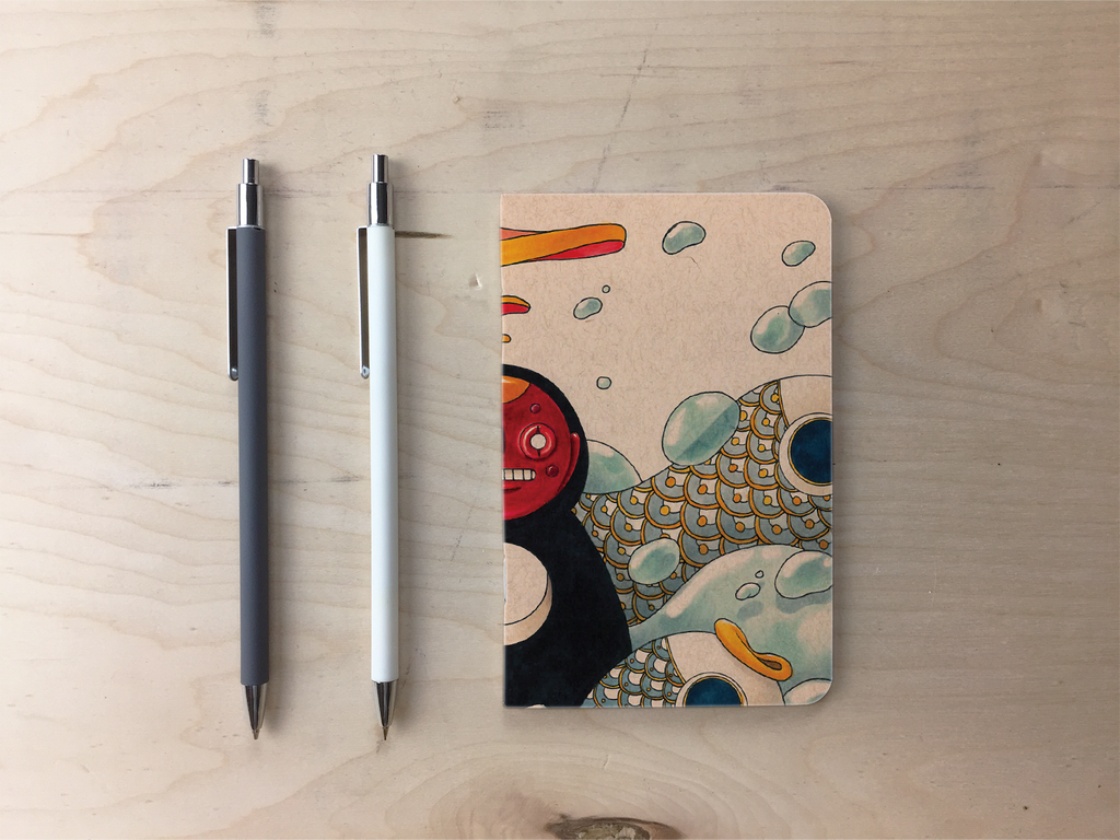 Yin and Yang Pocket Notebook