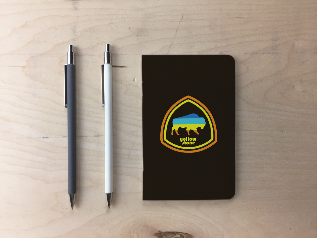 Yellowstone Bison Pocket Notebook