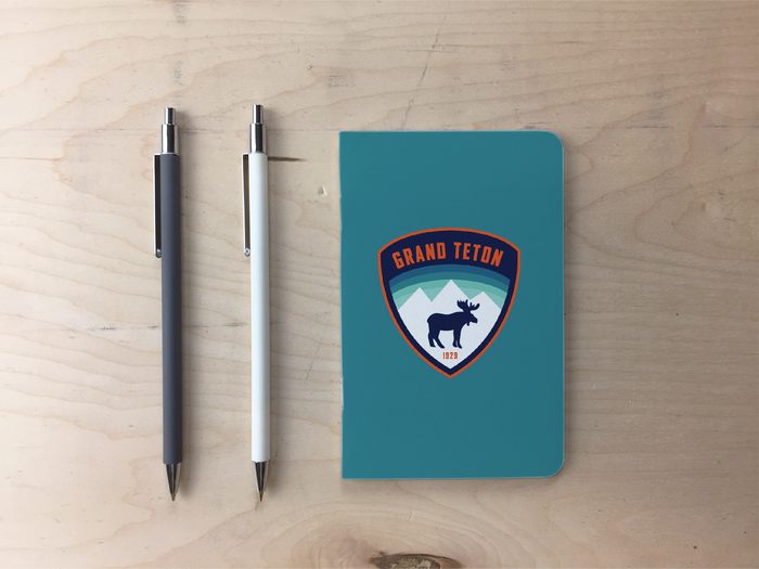 Grand Teton - Moose Pocket Notebook