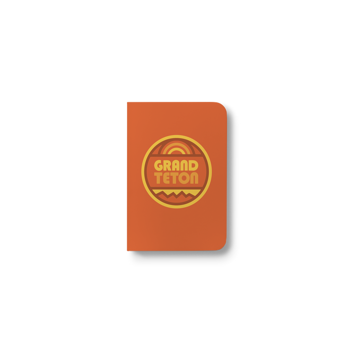Grand Teton Pocket Notebook