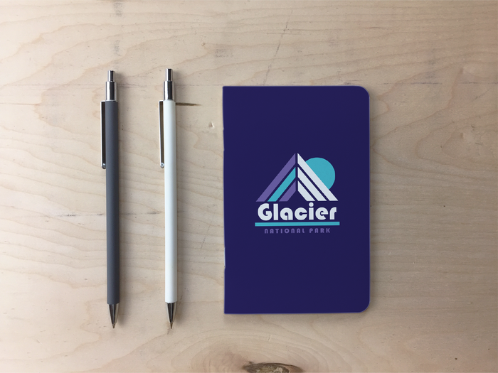 Glacier Pocket Notebook