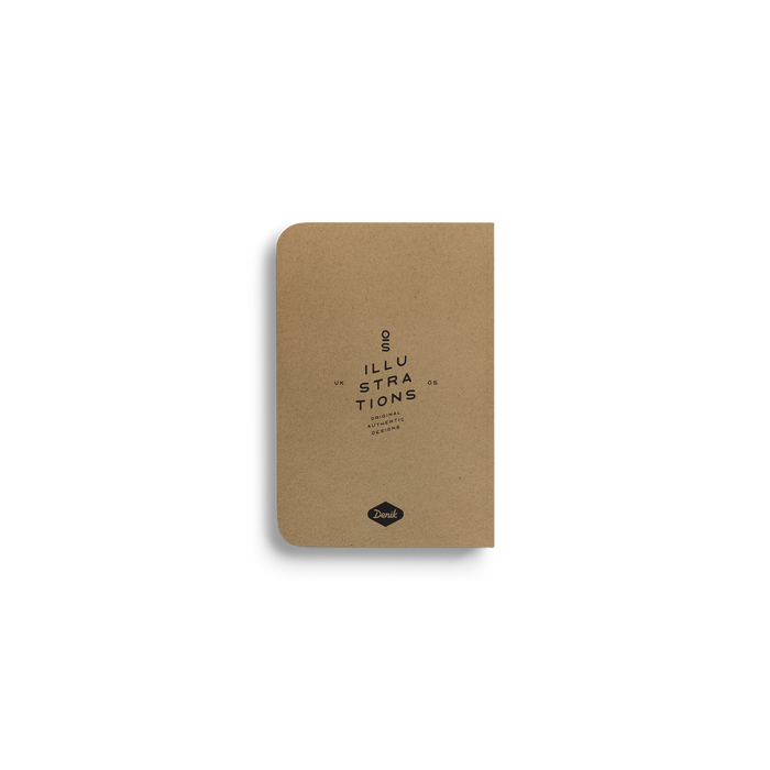 Moonlight Camp - Kraft Pocket Notebook