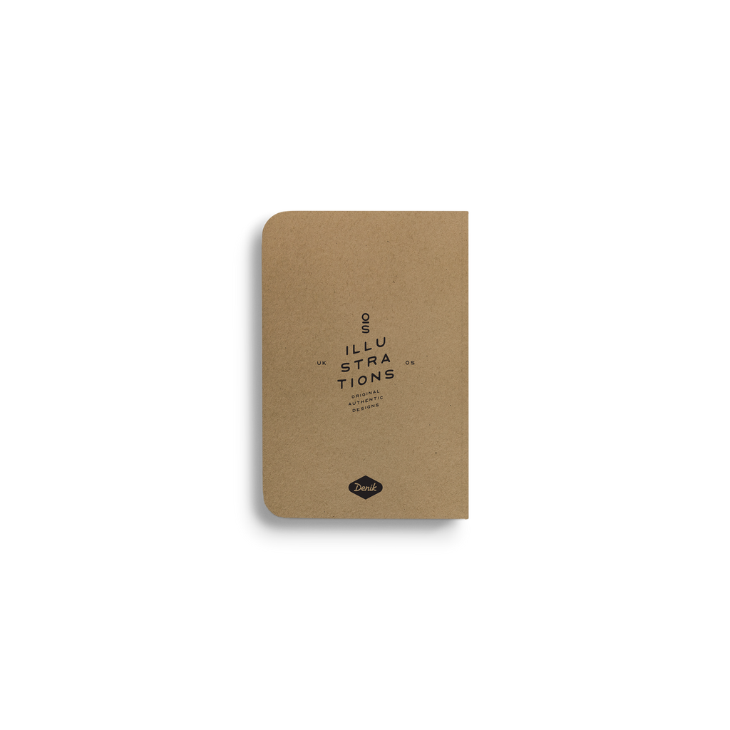Pines - Kraft Pocket Notebook