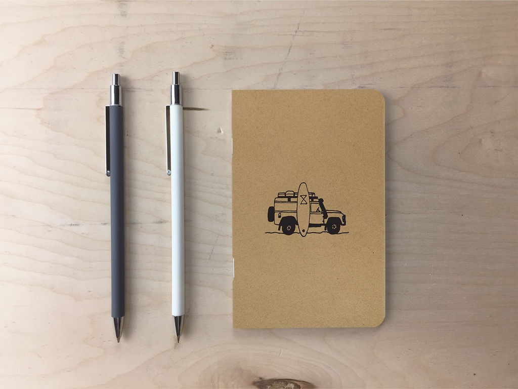 Landy - Kraft Pocket Notebook