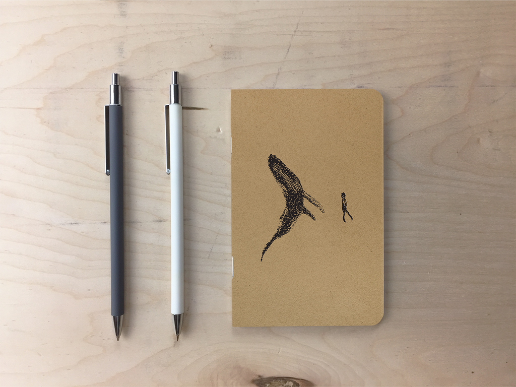 Noah and the Whale - Kraft Pocket Notebook