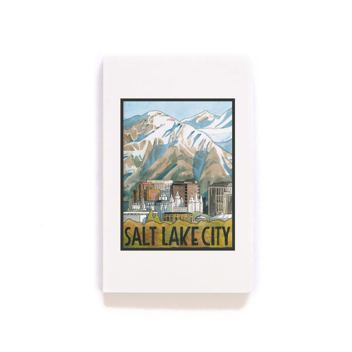 Salt Lake City Softcover Notebook