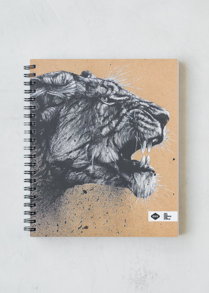 Lioness Spiral Sketchbook