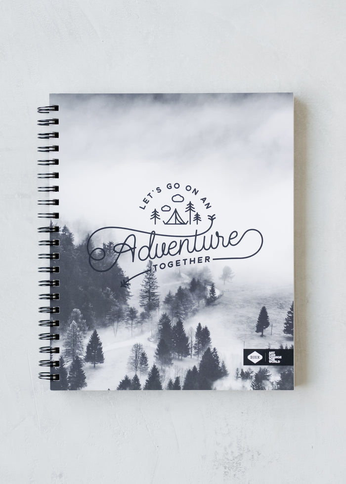 Adventure Spiral Sketchbook