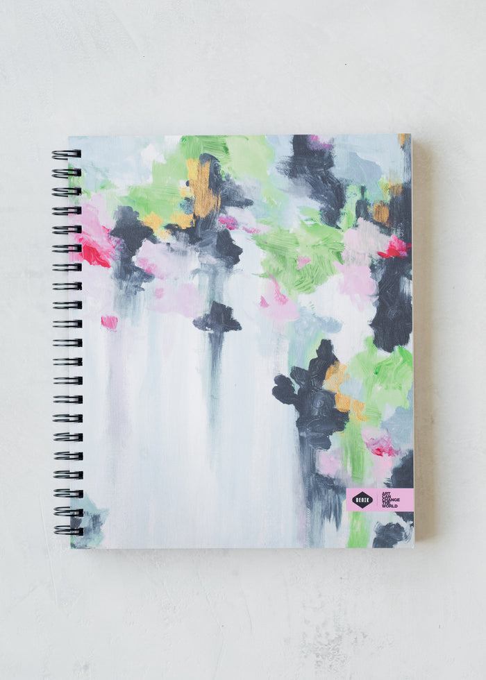Spring Day Spiral Sketchbook