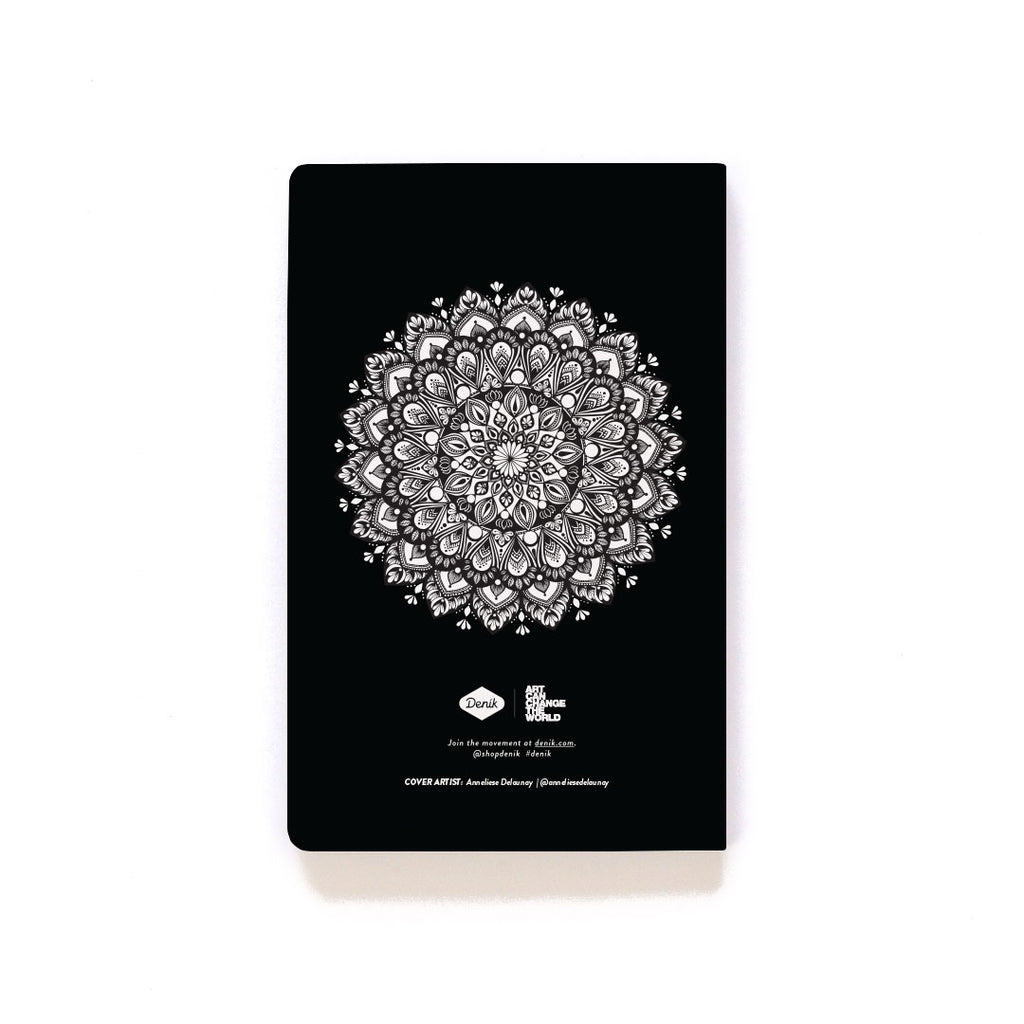 Twins Mandala Softcover Notebook Twins Mandala Softcover Notebook