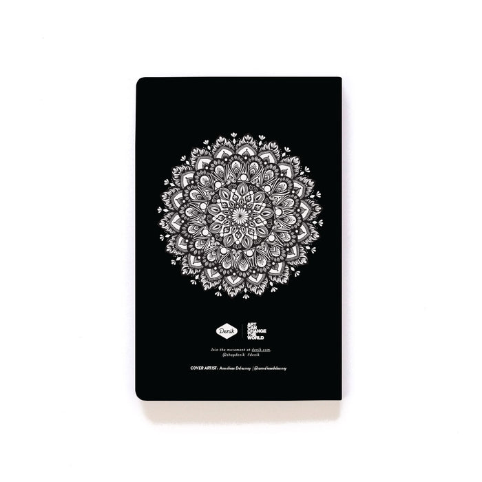 Twins Mandala Softcover Notebook