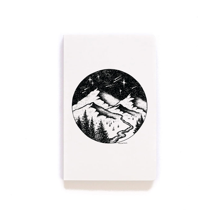 Valley River Layflat Softcover Notebook