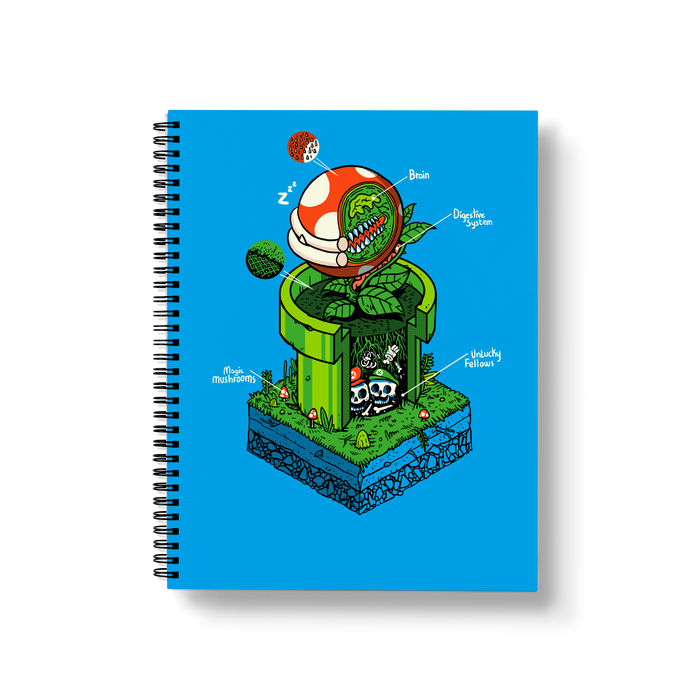 1 Up Large Wire-O Notebook