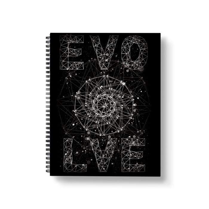 Evolve Large Wire-O Notebook