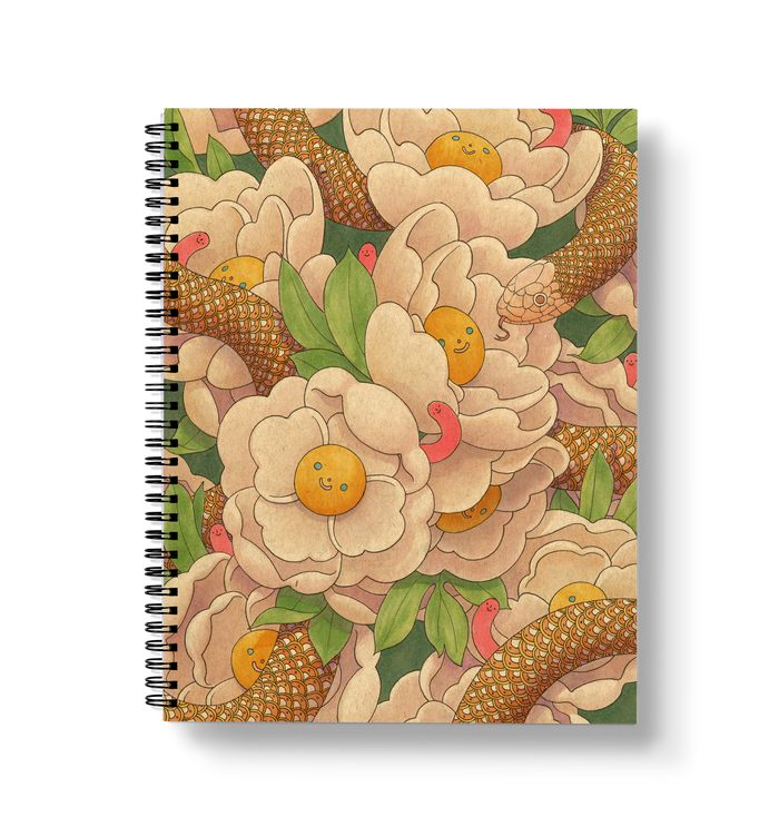 Spring Large Wire-O Notebook